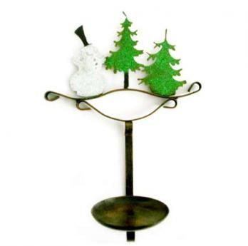 Candelabro Navidad 32 cm H x 23 cm W $35.000