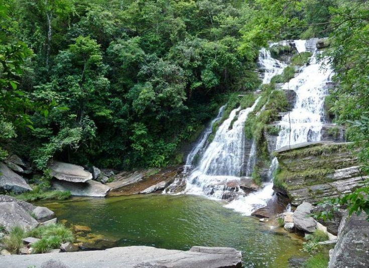 """As mais belas cachoeiras em Minas Gerais, com piscinas naturais, matase montanhas """"que quem conhece não esquece jamais"""". São 8 parques nacionais e 18 estaduais e temtambém as mais belas cidades históricas do país.Orango delicioso,"""