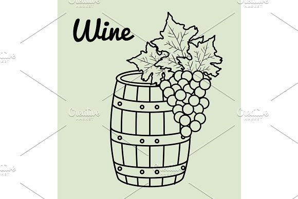 Best Wine Barrel Icon Wine Barrel Wine Cooler Barrel