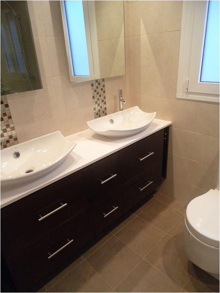 mueble bajo lavabos colgado | Muebles bajo lavabo, Muebles ...