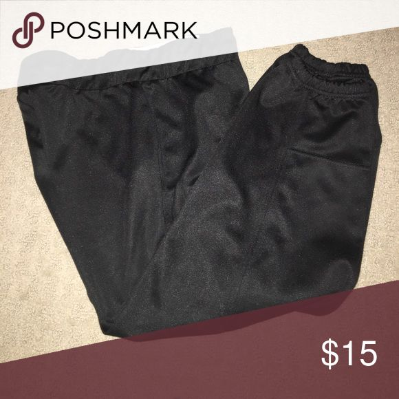 Black Worth Softball Pants Barely worn black worth softball pants. 29 inches from waist to elastic. Worth Pants