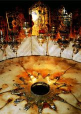 The actual place where, through our Roman Catholic faith and tradition, tells us that Jesus Christ our Lord was born!