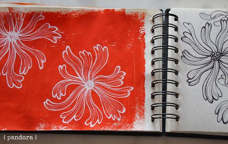 sketchbook by pandora creazioni * inspired by Alisa Burke