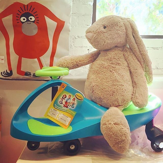 🎶They see me Rollin'🎶 Check out Bunny on the PlasmaCar!  #restocked #jellycat #plasmacar #reallybigbunny #loulouscorner #plasmart #plasmarttoys #toys #kids #kidstoys #fun #funwithfriends #playmatters #learnthroughplay #learninplay http://plasmacar.com/ http://plasmarttoys.com/home.html