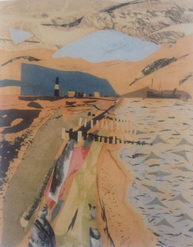 """""""Dungeness"""" by John Piper, 1938"""