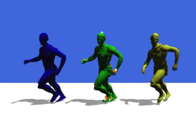 Real-time motion capture system from Disney Research uses as few sensors as possible
