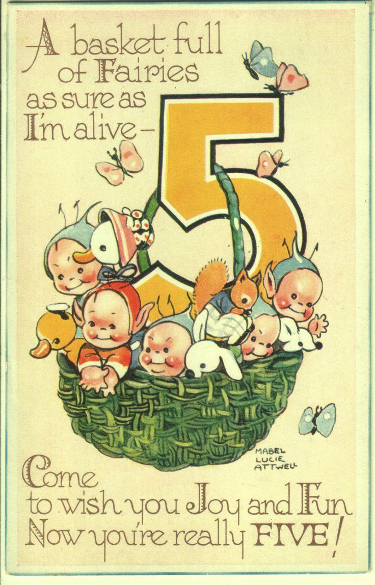 44 Best Cards Birthday Vintage Images On Pinterest Vintage Cards