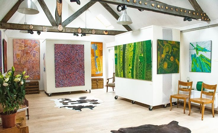 Exposition d'art Aborigène - Galerie Aboriginal signature. #Artaborigene #aboriginalart #australianart #artaustralien #indigenous #green