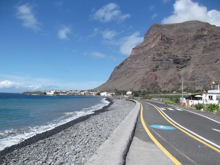 Blick nach Playa de La Calera