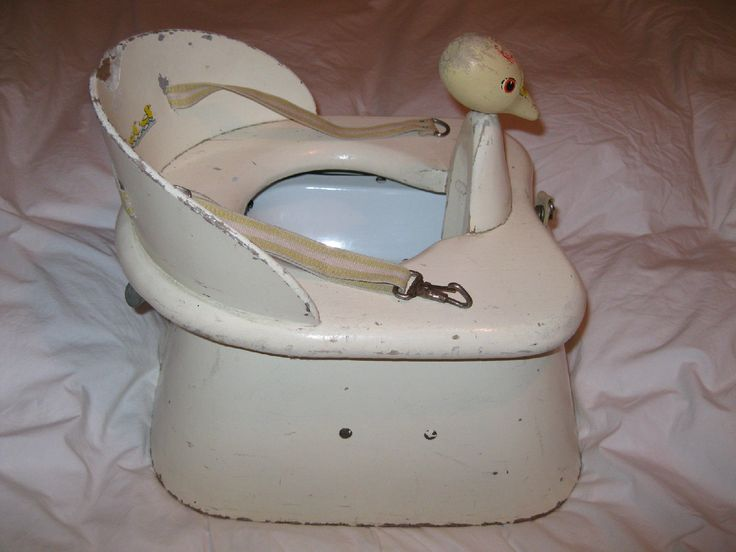 Vtg Doo Tee Infant Training Duck Head Baby Potty Chair