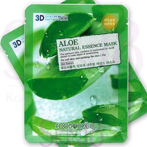 Foodaholic 3D Aloe Natural Essence Mask