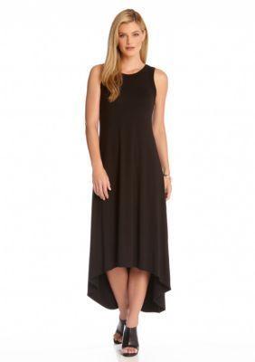 Karen Kane Black High Low Maxi Dress