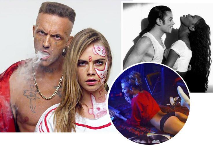 Stjernespækkede musikvideoer du skal se | Costume.dk