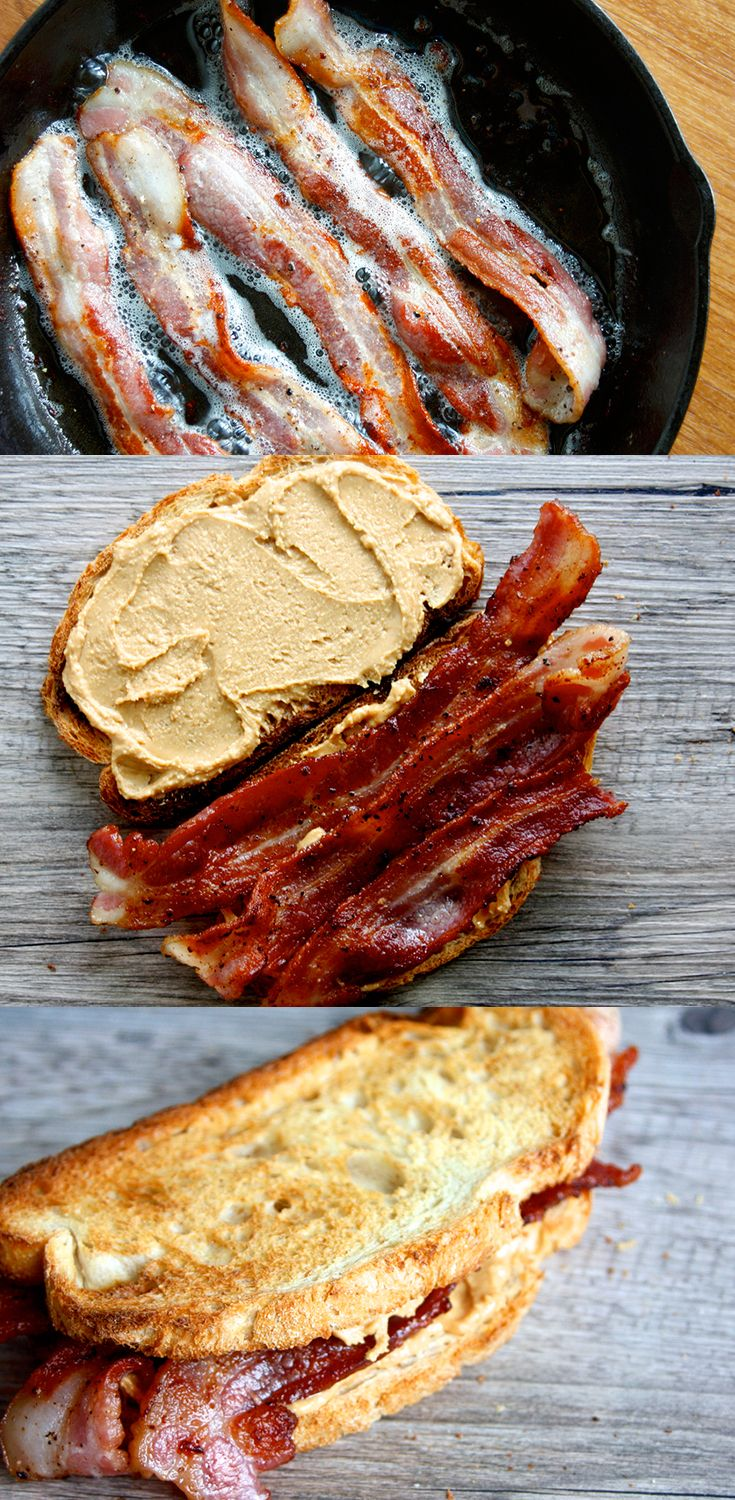 What happens when pork meets peanut butter? Magic. And this peanut butter bacon…