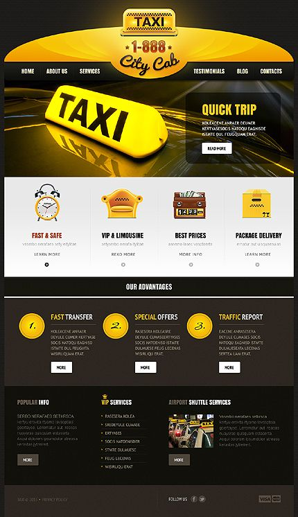 Taxi WordPress Theme #transport #website http://www.templatemonster.com/wordpress-themes/43106.html?utm_source=pinterest&utm_medium=timeline&utm_campaign=taxi