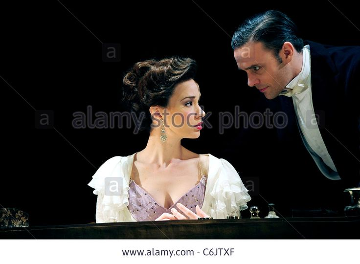 Sierra Boggess and Joseph Millson 'Love Never Dies' photocall at the Adelphi Theatre London, England - 03.03.10 Vince Maher