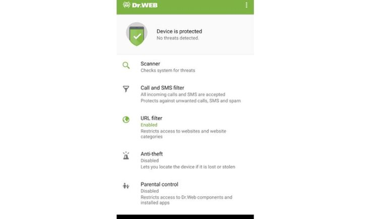 Dr.Web Security Space 12.0 für Android ab sofort mit Kinderschutz