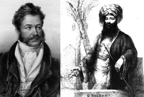 Giovanni Battista Belzoni (5.11.1778 - 3.12.1823) è stato un esploratore pioniere dell'archeologia. È considerato una delle figure di primo piano dell'egittologia mondiale.