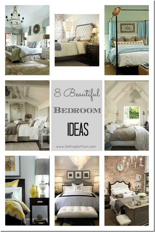8 Beautiful Bedroom Ideas from Setting for Four. #decor #bedroom: 8 Beautiful Bedroom Ideas from Setting for Four. #decor #bedroom