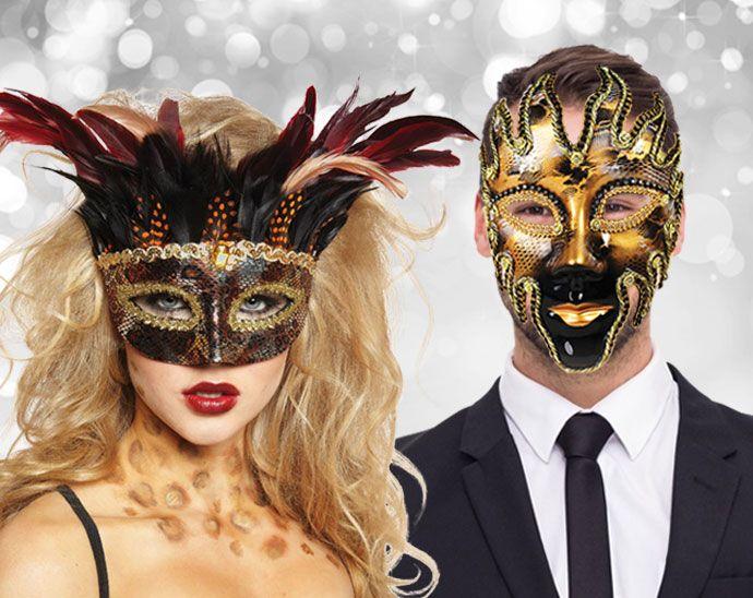 Christmas Masquerade Ball Party Theme                                                                                                                                                                                 More