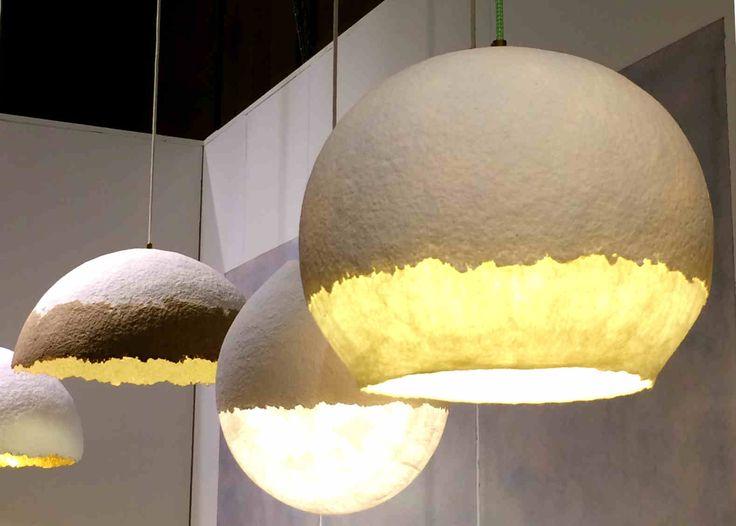 Felt  paper, by Vilt aan Zee and Mark de Weijer, Dutch Design. Photo:Lichtinspiratie