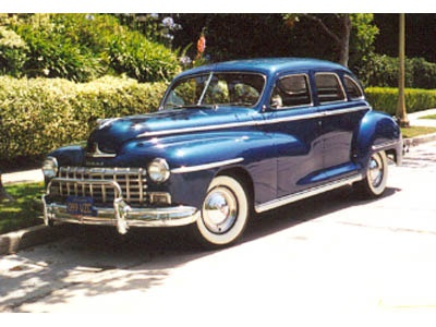 Classic Car Rental Connection - 1946 Dodge Deluxe Sedan