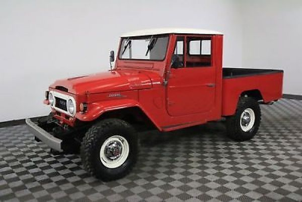 1964 Toyota Land Cruiser 28K ORIGINAL MILES! ULTRA RARE SHORTBED COLLECTOR FINANCING! WORLD WIDE SHIPPING. CONSIGNMENT. TRADES. FORD CHEVY BRONCO TOYOTA