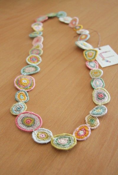 Sophie Digard crochet necklace