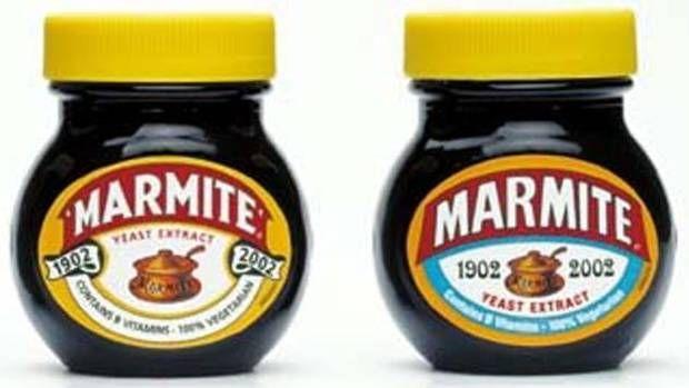 Two Marmite jars