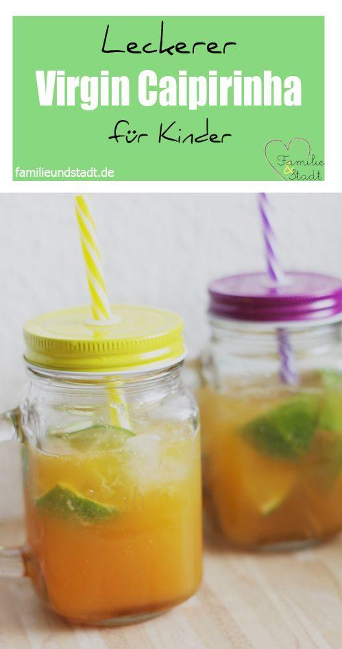 DIY Caipirinha für Kinder, lechere Rezepte für den Kindergeburtstag