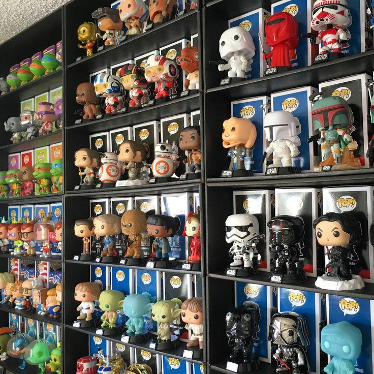 Display Geek Funko Display Shelves for Pop Vinyls  Funko