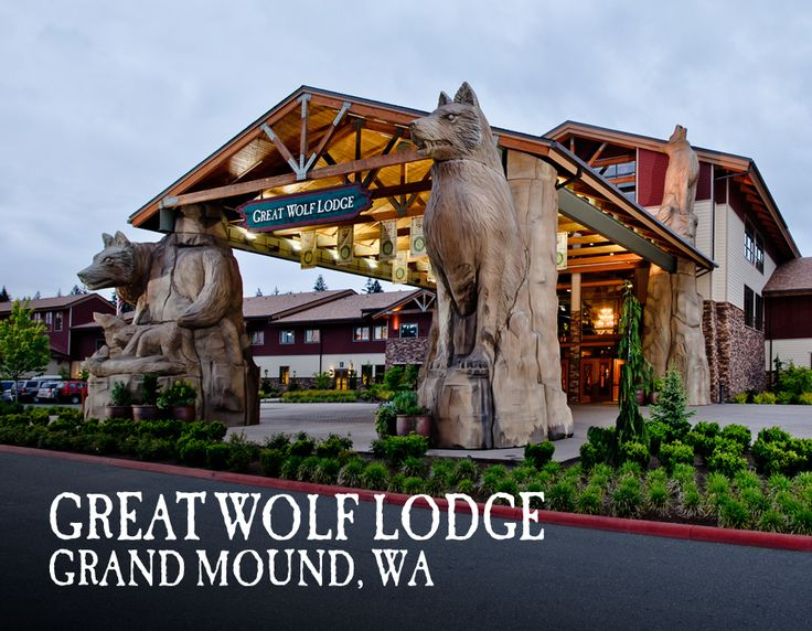 Your Great Wolf Lodge adventure begins in our massive, 84-degree indoor water park. Pin your favorite activities to your own board and start picturing your Great Wolf Lodge Grand Mound getaway!