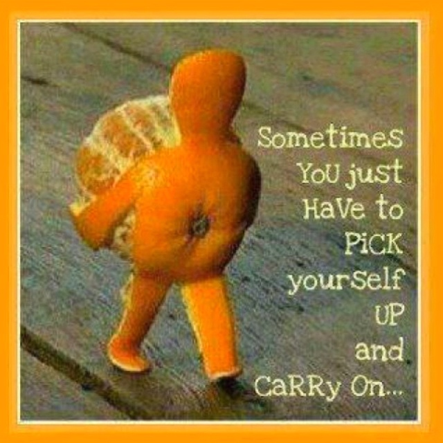 Pick yourself up