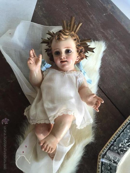 Niño de cuna de olot, estuco sellado - Foto 1