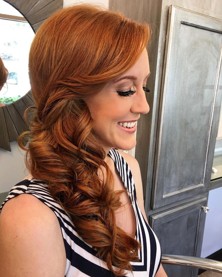We love our redhead brides! Can you believe that is her natural hair color! We are so excited to be a part of Caitlyn's wedding. Check out some sneak peeks from her bridal trial! Airbrush Makeup and Hairstyling by #VOGsamantha @veilofgrace