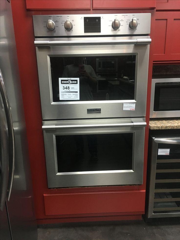 Fridgedaire professional double ovens professional