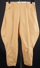 Vtg 1940s Women's Cotton Whipcord Jodhpurs Pants 40s Breeches #1166 Riding