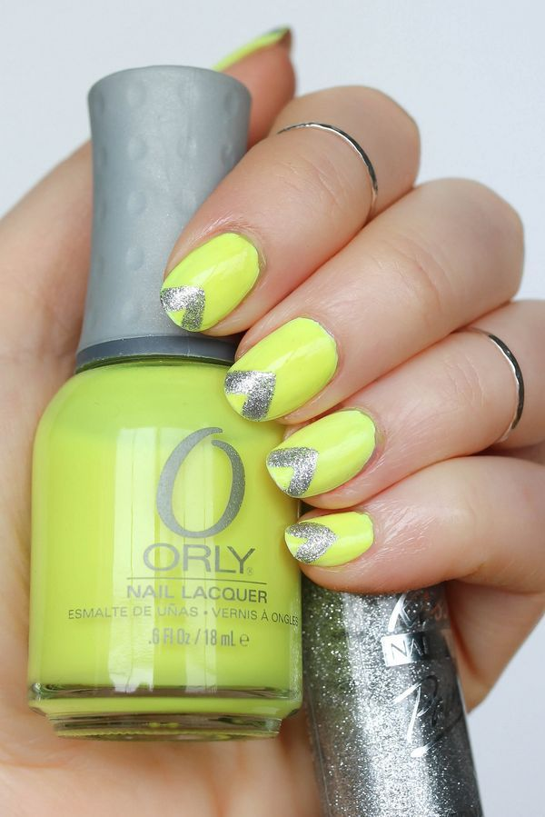 Neon Nails for Summer | Neon nails, Orly nail polish and Manicure