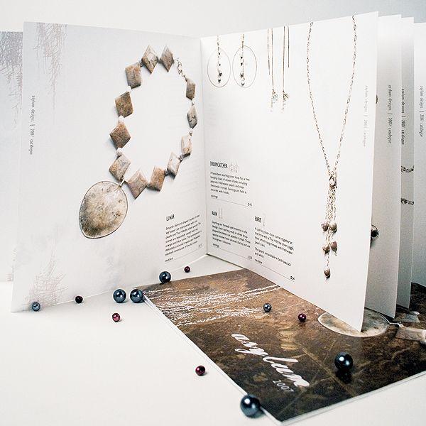 asylum jewellery   catalogue by Megan Seely, via Behance