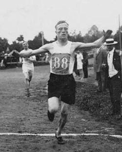 1924  Albin Stenroos (Finlande)JO de Paris France