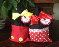 Sacolinha Doces Minnie e Mickey