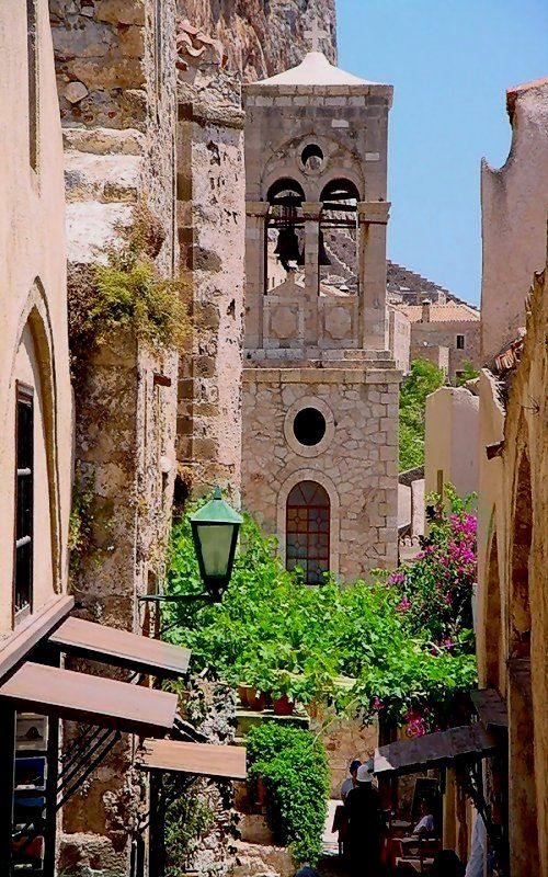 Medieval Monemvasia (Peloponnese), Greece