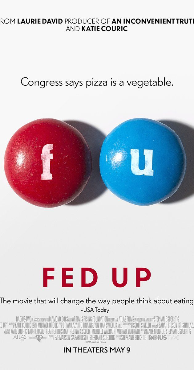 Fed Up - This film also tackles sugar and its role in the obesity epidemic, exposing the ways in which corporate interests are keeping us sick. It's one of the most highly lauded of its ilk. You can watch the trailer here and the full film here.