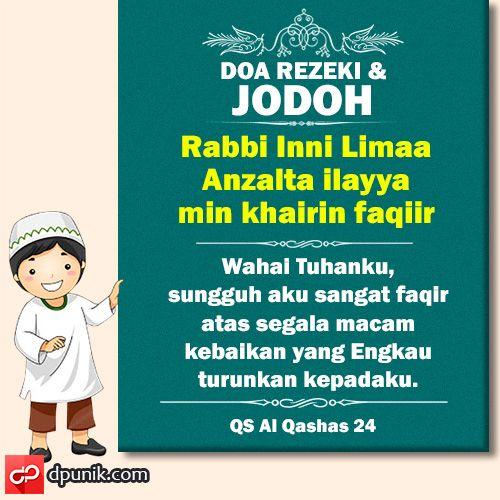 Doa Rezeki dan Jodoh