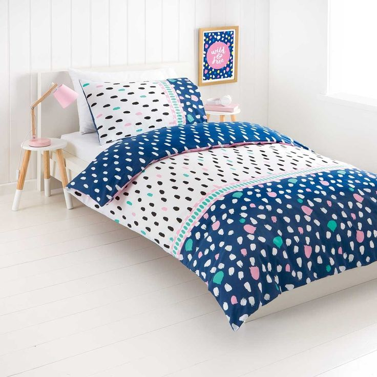 Reversible Afia Quilt Cover Set - Single Bed | Kmart