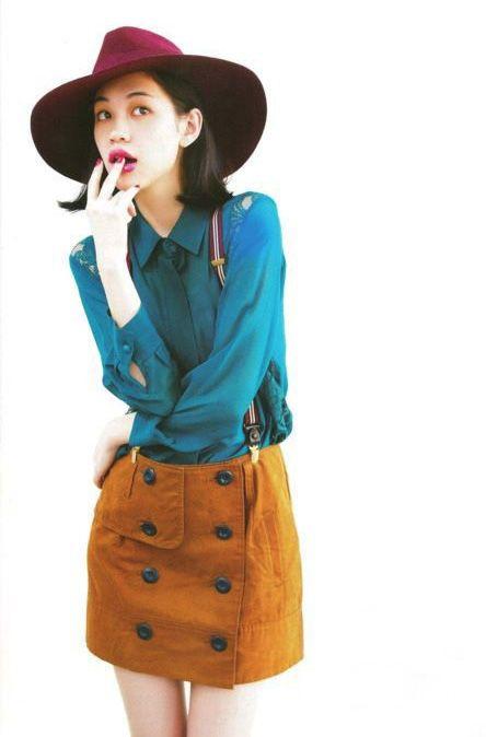blue sargent (ft. her ??? fashion sense)