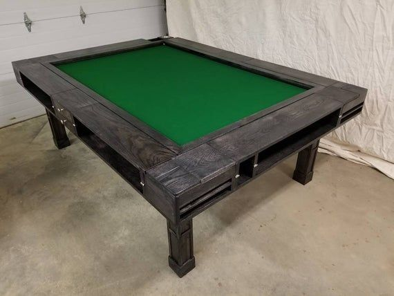 The Algenon Mid Board Game Table With Images Board Game Table Table Games Gaming Table Diy