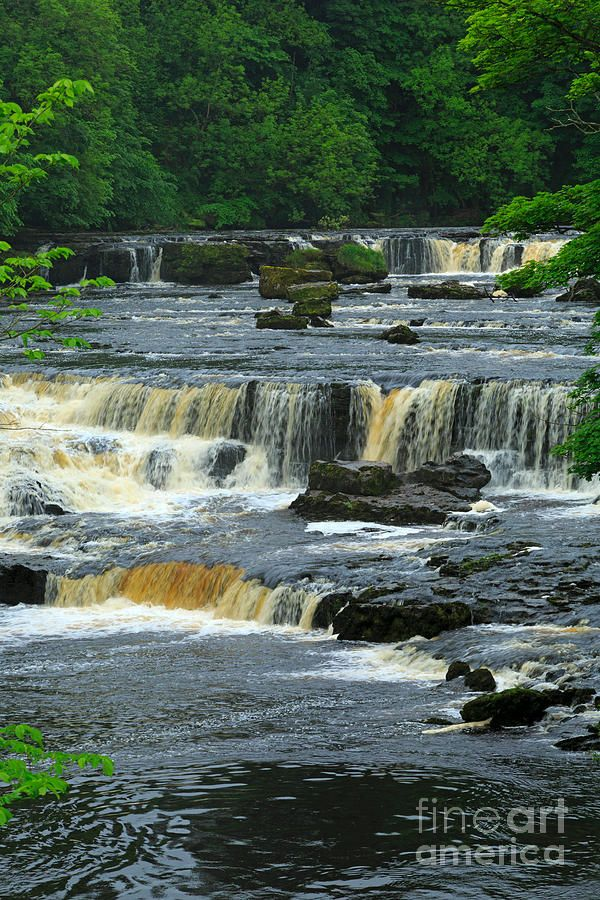 ✯ Aysgarth Falls, Wensleydale, Yorkshire, again beautiful place in the summer