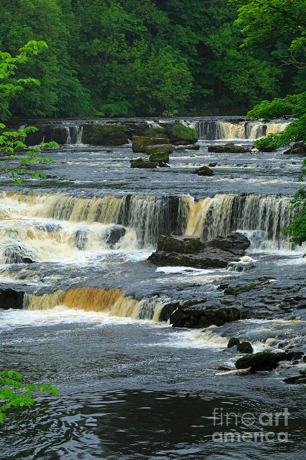 ✯ Aysgarth Falls, Wensleydale, Yorkshire, again beautiful place in the summer