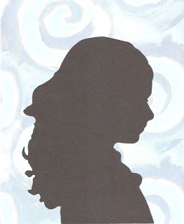 These silhouettes would make a great Mother's Day gift for parents of students in the elementary classroom!